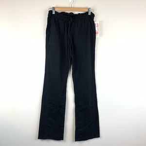 NWT Miken Crinkled Cotton Pocket Swim Cover Pants